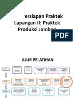 M10 Persiapan Praktek Lapangan II_Praktek Produksi Jamban