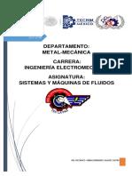 Compendio de Materia Sistemas y Máquinas de Fluidos Unidad 3