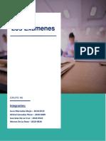 Informe de Orientacion Examenes
