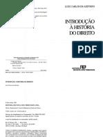 Cap[1] - Introdução à História Do Direito - Luiz Carlos de Azevedo (2005)