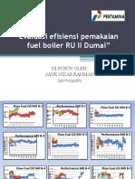 Evaluasi Efisiensi Pemakaian Fuel Boiler RU II Dumai - Copy