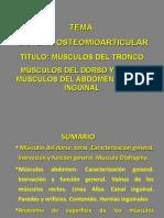 Conf. 12 Musculos Del Tronco