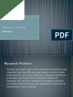 Analisis Jurnal - IR Reporting