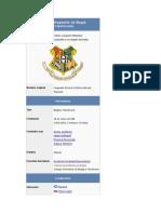 Colegio Hogwarts de Magia
