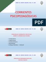 2. Corrientes Psicopedagogicas
