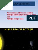 Miscarea de Rotatie