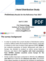 PM European Hotel Distribution Survey 2018 Hotrec