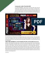 Rahasia Pemain Baru Menang Poker Online Pokerhotbet888