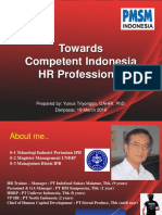 Towards Competent Indonesia Hr Professional