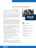 Customer Journey Mapping Datasheet