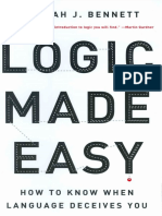 Bennett Deborah. Logic Made Easy 2004