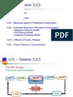 IMC - Session 3,4,5