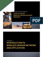 Wireless Sensor Netowork