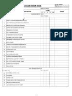 Internal Audit Check Sheet Ok 2016