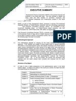 Executive Summery PIS Study on PLastic Polymer TECS