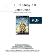 Final Fantasy XII Game Guide(1)