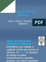 Diapositiva de Trabajo,Potencia y Energía