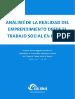 Israel Hergon - Análisis de la realidad del Emprendimiento desde el Trabajo Social en España