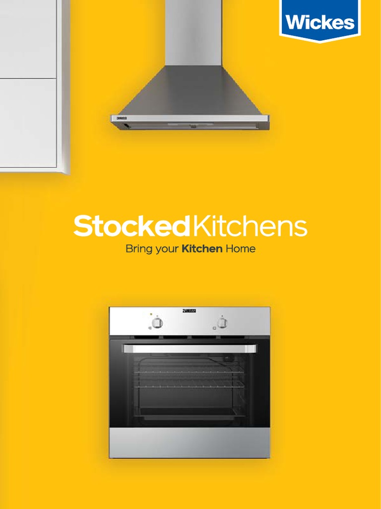 Wickes Hdc Stockedkitchenguide Kitchen Kitchen Stove