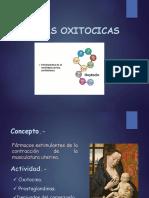 Drogas Oxitócicas