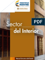 Estructura del Estado Colombiano - Sector Interior