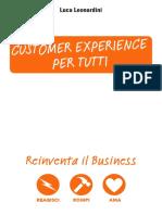 Customer Experience Per Tutti