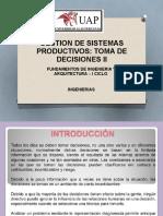 Gestion de Sistemas Productivos II