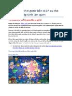 Ban Ca 188BET - Huong Dan Cach Choi Game Ban Ca an Xu Hieu Qua Nhat