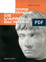 Histoire Ancienne de l'Afrique Du Nord