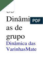 60 Dinâmicas de Grupo