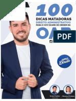 eBook - 100 Dicas Matadoras Direito Administrativo