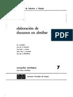 Elaboracion de Duraznos en Almibar