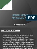 Rekam Medis Pelayanan Dk - Muhammad Hafizh 07310165