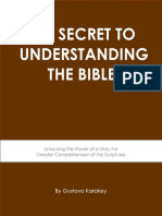 Secret to Understanding the Bible
