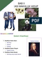 Bab 2 Klasifikasi Makhluk Hidup