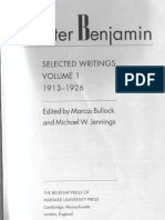 Walter Benjamin_ Selected Writings, Volume 1_ 1913-1926 (1996, Belknap Press)