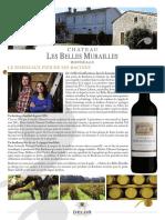 Les Belles Murailles Chateau-Bordeaux Rouge Eleve-Vin Bordeaux-fr