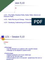 IMC - Session 9,10