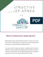 Risks of Obstructive Sleep Apnea