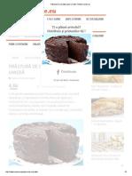 Prăjitură de Ciocolată Super-umedă - Retete-Usoare