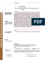 Evaluation of salicylic acid and mycorrhiza on some characteristics of cumin