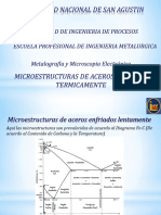 Clase Microestructuras de Aceros Tratados Termicamente