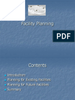 Facility Planning - Introduction & Objectives