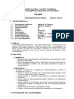 Electromagnetismo y Ondas.2013