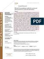 Comparison of EPM and Geomorphology models for erosion and sediment yield assessment in a semi-arid environment