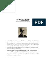 Exposé Henri Fayol