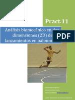 Análisis biomecánico en dos dimensiones (2D) de los lanzamientos en balonmano