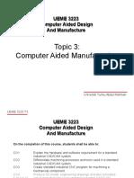 UEME3223 Topic 3 Part 1