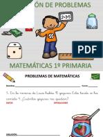 Coleccion de 50 Problemas de Matematicas Primer Ciclo Primaria
