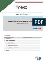 Manual Nexo - Desarrollo Del Manual Del Usuario Vjunio